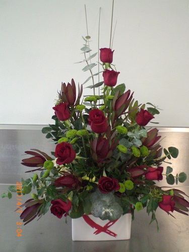 Red Roses Beauty Arrangement